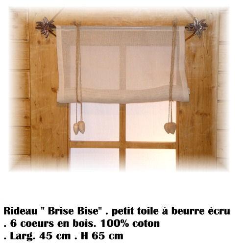www.deco-chalet.ch Rideau brise bise, Brise bise coeur, Brise bise ...