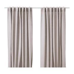 d tails 1 paire de rideaux avec embrasse rideaux panneau store enrouleur. Black Bedroom Furniture Sets. Home Design Ideas